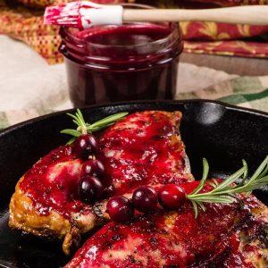 Cranberry Roasted Garlic Sauce
