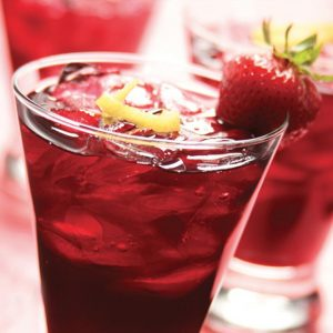 Dragon Fruit Berry Tea