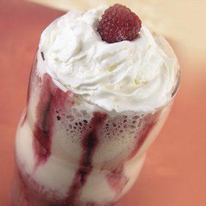Raspberry Mocha Cream