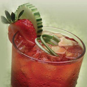 Strawberry Cucumber Cooler