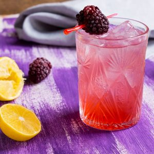 Blackberry Lavender Lemon Drop