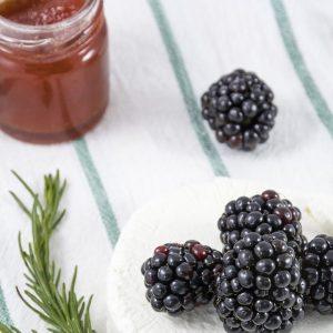 Blackberry Rosemary Preserves