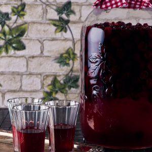 Cherry Dill Pickle Liqueur